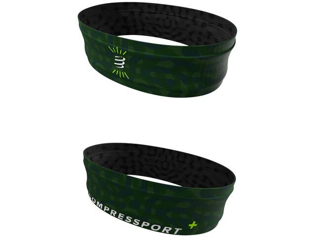 Compressport Free Belt Camo Neon 2020 jungle green